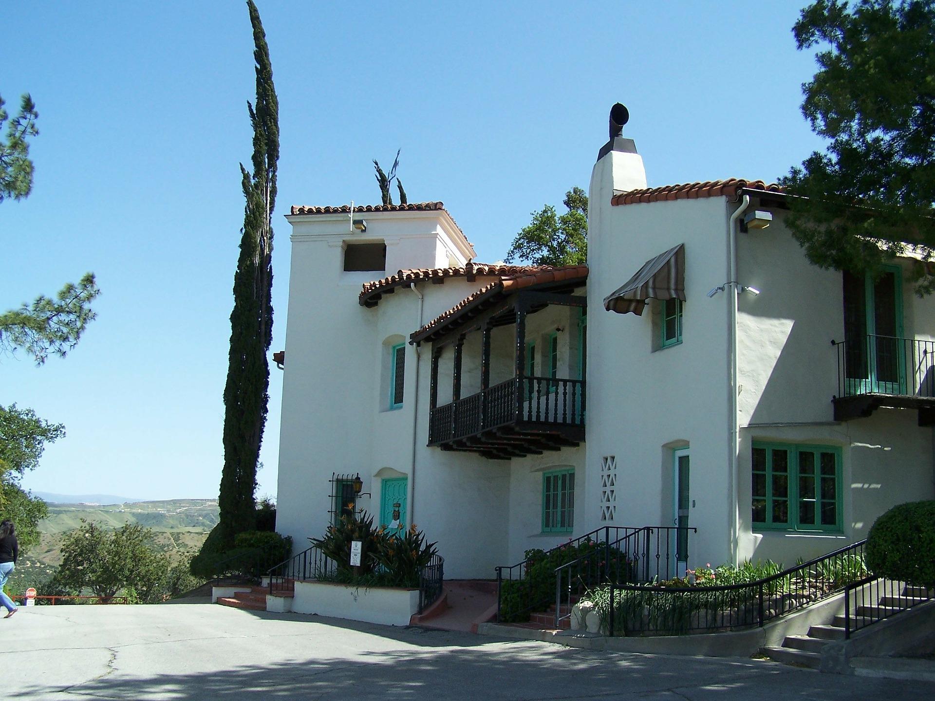 Et spansk hjem i bjergene