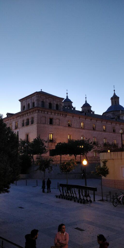 Kandidat i Spanien Universitet i Murcia