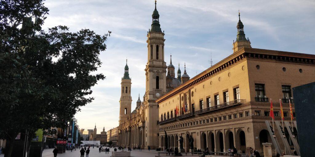 Basilia del pilar zaragoza - spanske byer - alt om spanien