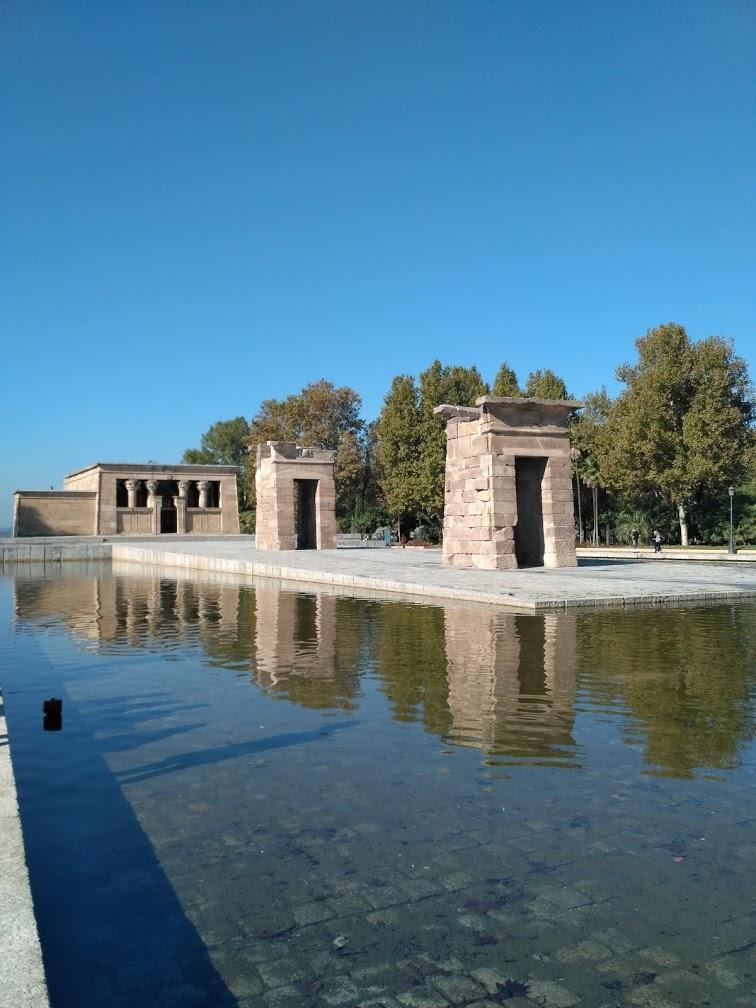 Templo de Debod Seværdighed i Madrid