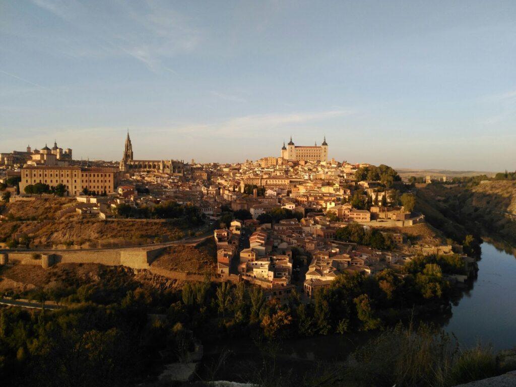 Toledo Spanien billede af hele Toledo - spanske byer - alt om spanien