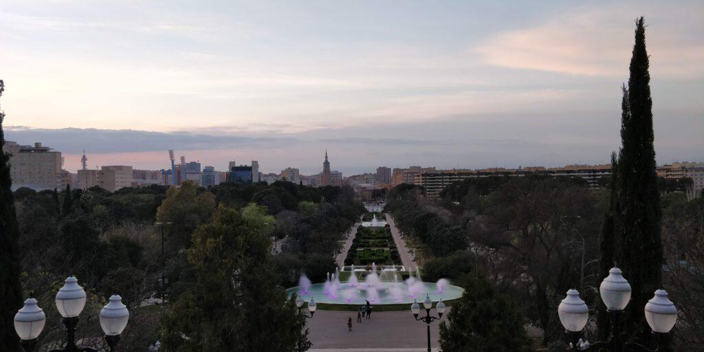 fordele ved at bo i spanien ved en park