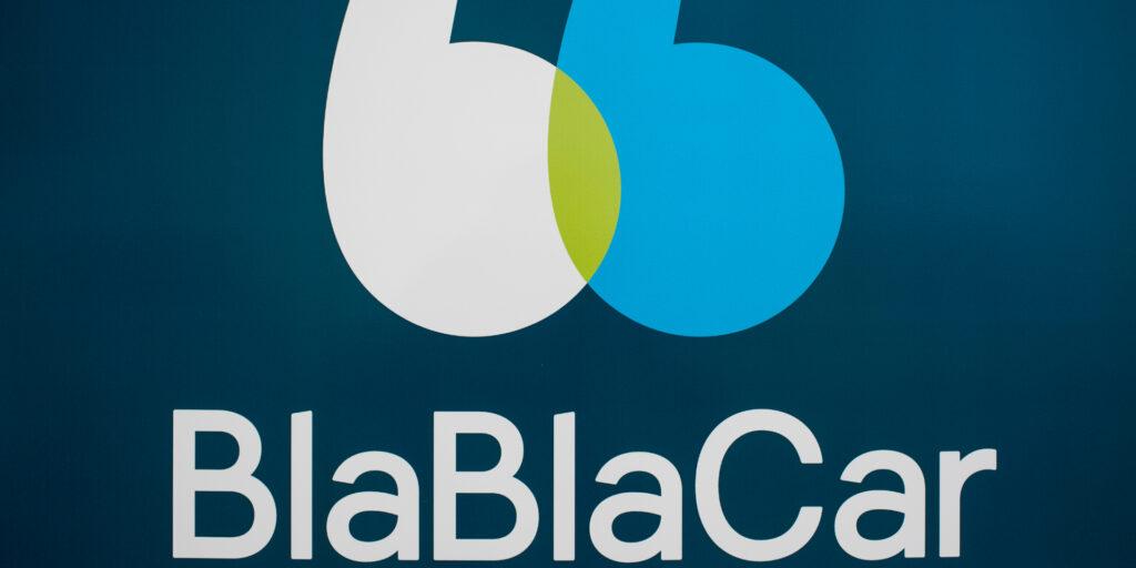 Blablacar - logo der insinuerer at det er delekørsel - Alt om spanien
