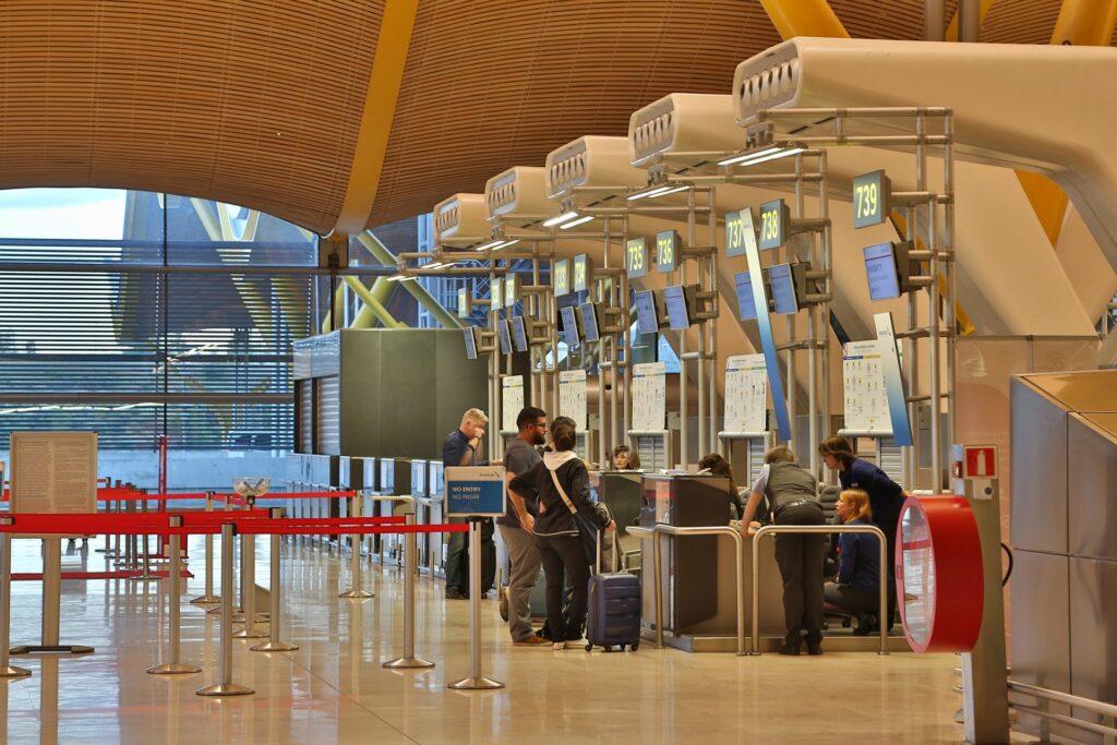 Madrid lufthavn check-in | Alt om Spanien